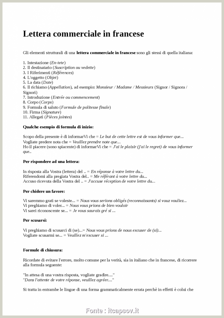 Online dating forma lettera