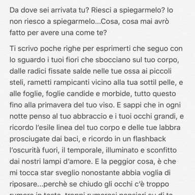 Instagram story by A, who loves in, way, Lettera d'amore ad un'amica