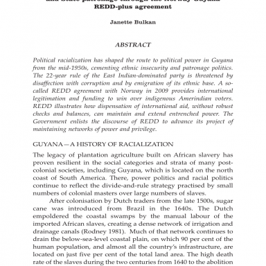 PDF) REDD letter days: Entrenching political racialization and, lettera di patronage parti