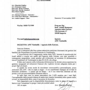 Word modello lettera commerciale, Itcapsov, Lettera di referenza inquilino