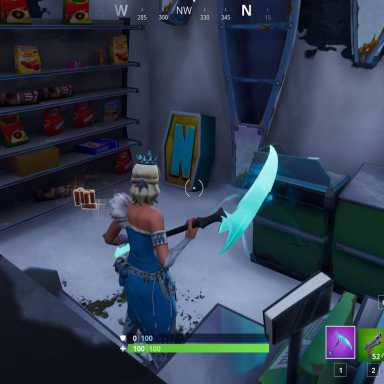 Fortnite' Challenge: Where To Search, Letter, Under A Frozen, lettera n fortnite