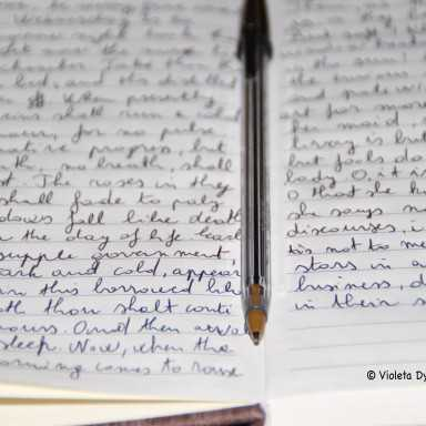 Scrivere a mano, lettera, Street Photography, Fotografia di, scrivere una lettera a mano